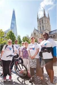 Carers charity walk