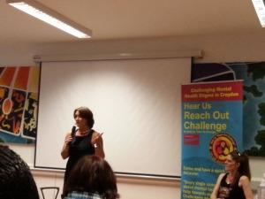 Sue Baker Speaks about Stigma