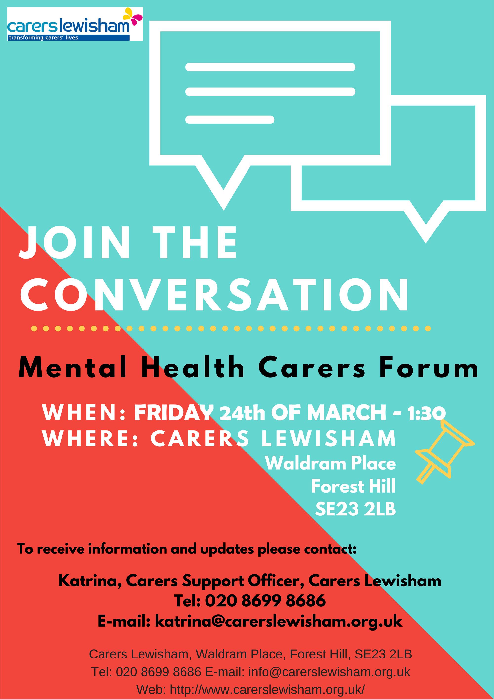 Mental Health Open Forum