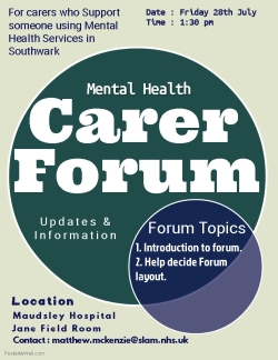Southwark MH Carers forum