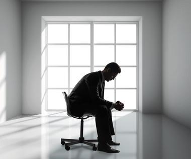 businessman sitting
