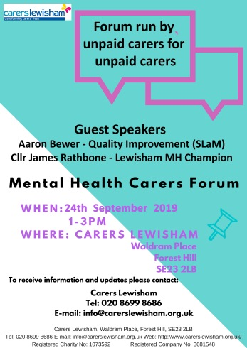 Mental Health Open Forum